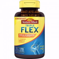 Triple Flex Nature Made của Mỹ hộp 170 viên