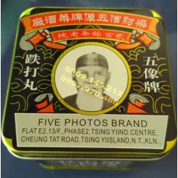 Trặc đả Five Photos Brand Tien Ta Wan điều trị tim mạch và tai biến
