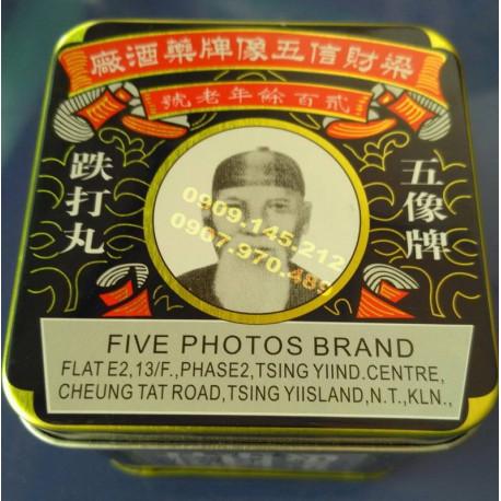 Five Photos Brand Tien Ta Wan điều trị tim mạch và tai biến